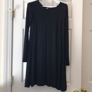 Old Navy Long Sleeve Swing Dress
